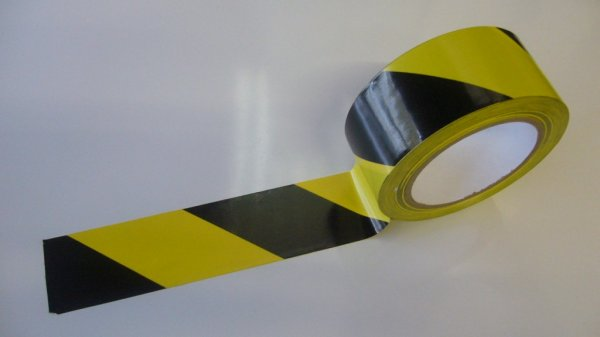 Yellow And Black Sticky Hazard Tape Wholesale Blade Company