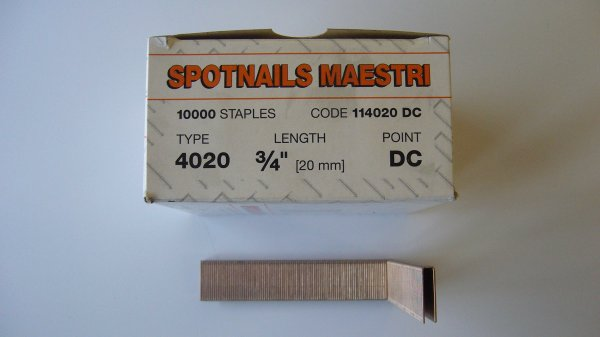 Spotnails Maestri 40/20mm (10,000 Per Packet)