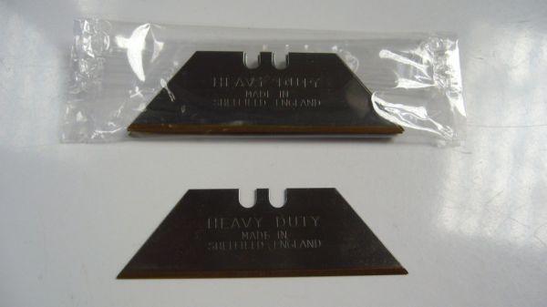 Heavy Duty Titanium Knife Blades 100 Per Box Wholesale